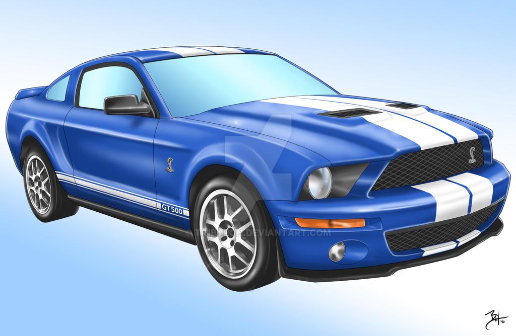 2008 GT500 Mustang Cobra by TR1Byron