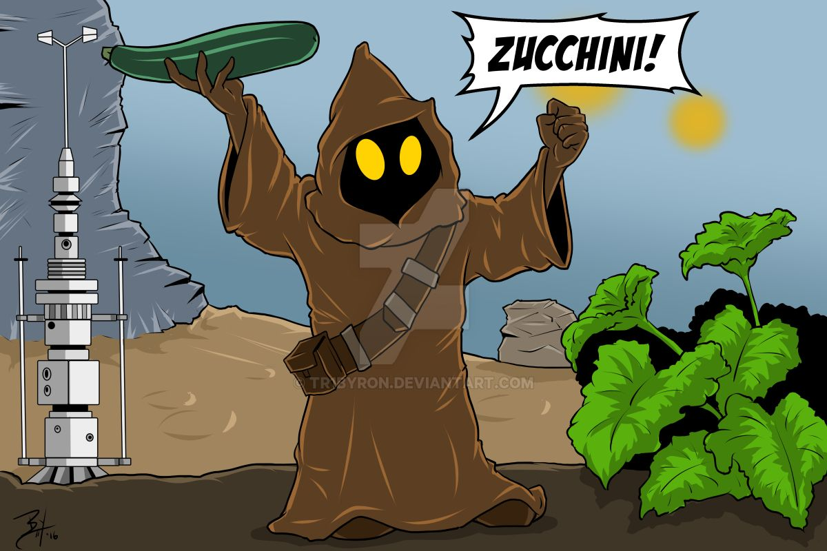 Jawa: Zucchini by TR1Byron