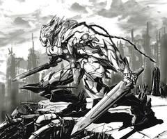 Melee Warrior by dmaxcustom