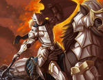 DnD Female Knight Rider