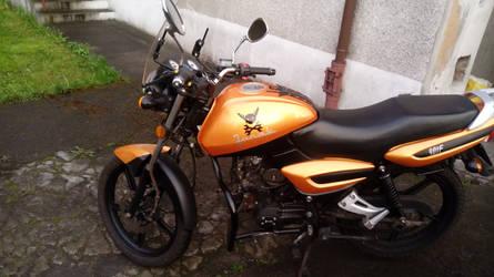 Lombax Motorbike by LMcIgarets