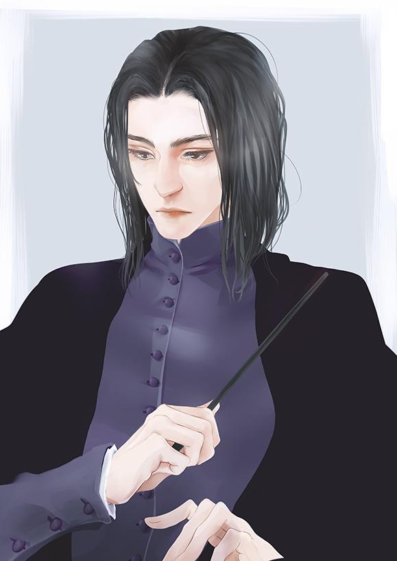 Severus Snape by melina-m