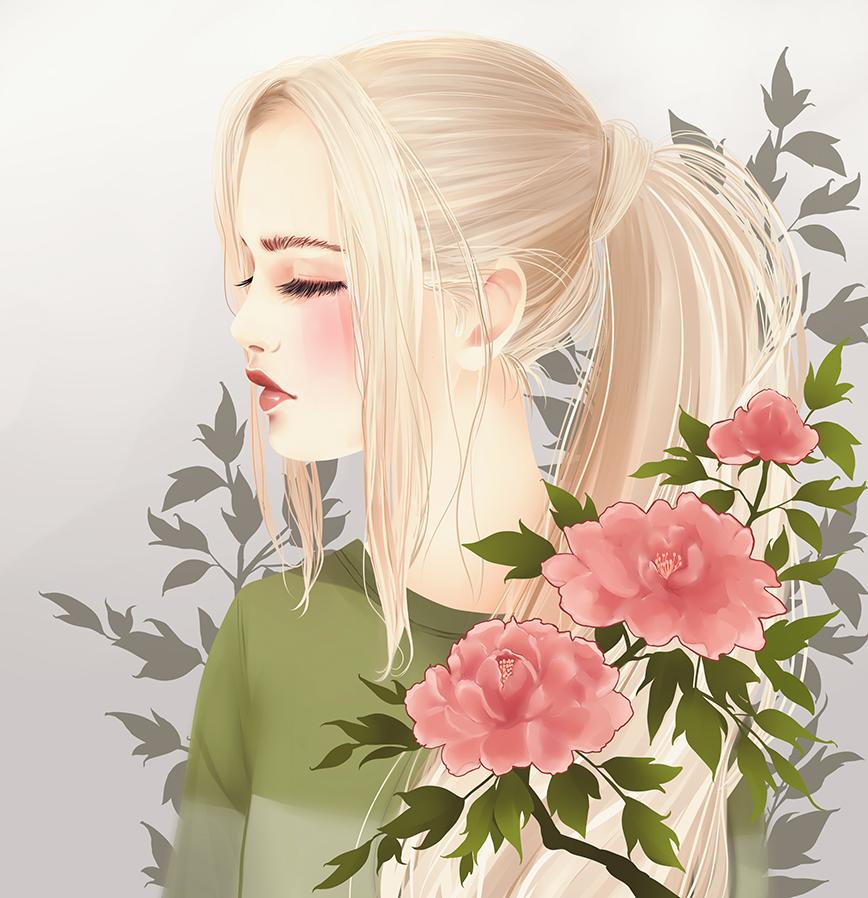 Amelia OC by melina-m
