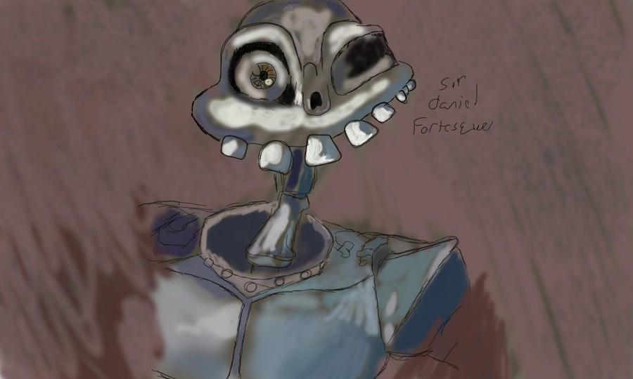 Sir Daniel Fortesque by MrBda241