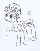 Lightning Dust Sketch by CaptainBoat