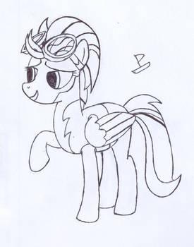 Lightning Dust Sketch