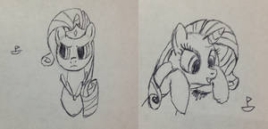 Random Rarity Doodles