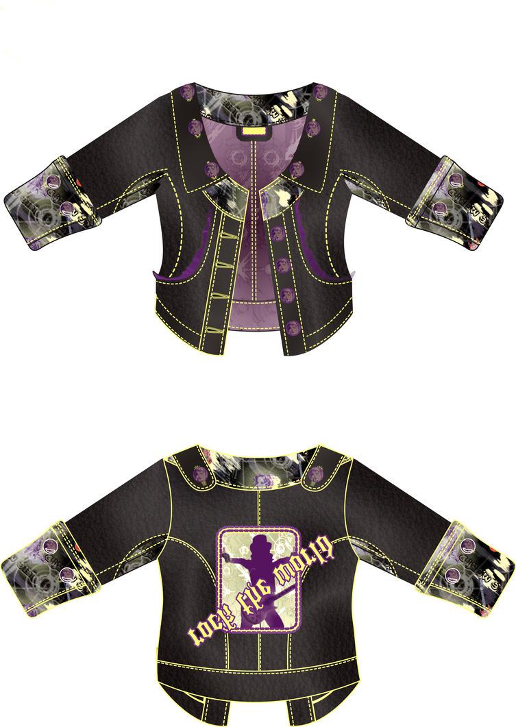 rocker leather jacket by sborauysal