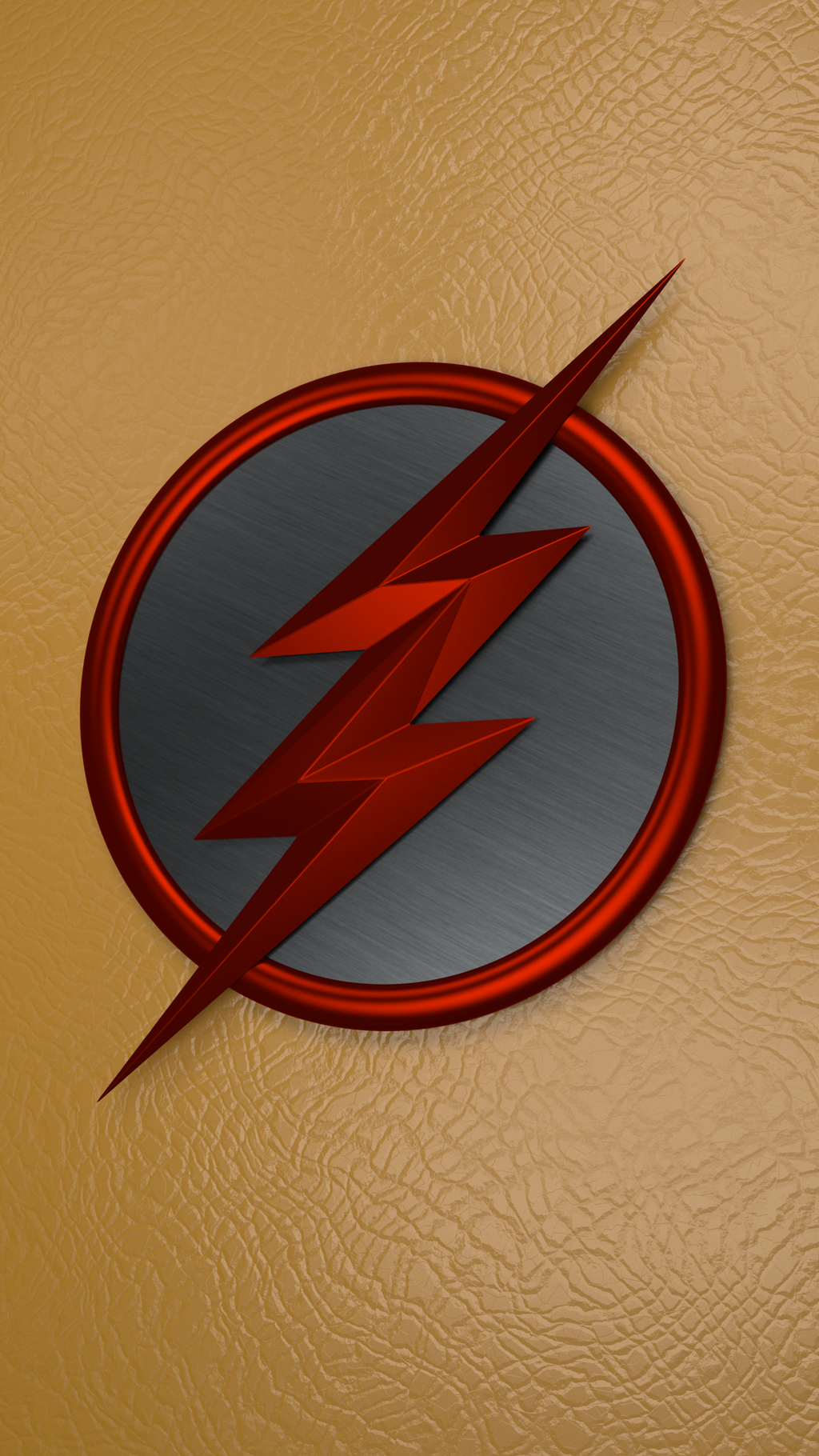 reverse flash logo phone wallpaper rendermrkezzah on deviantart
