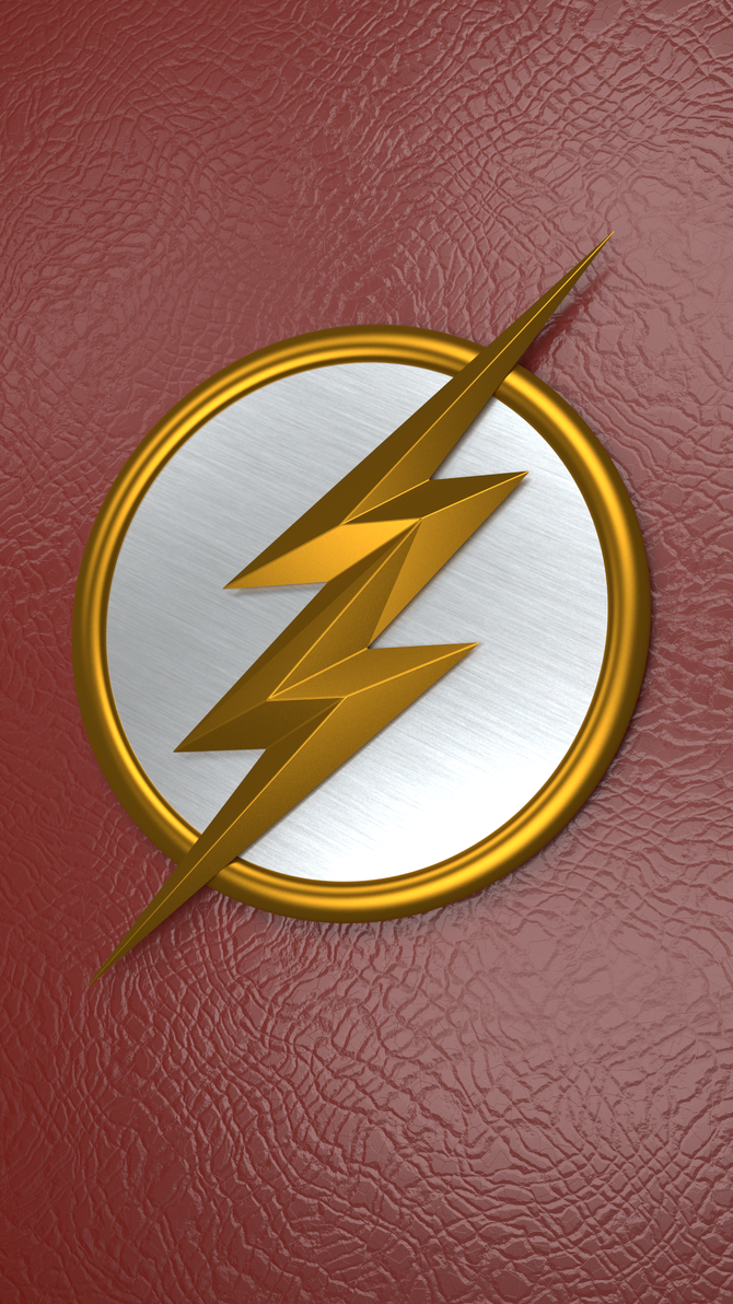flash logo phone wallpaper rendermrkezzah on deviantart