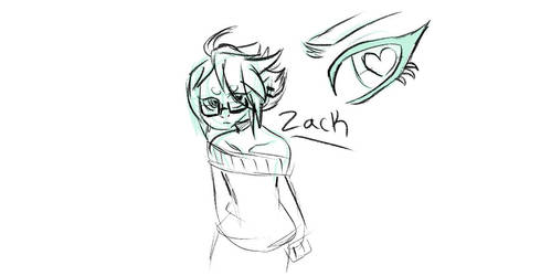 (WIP) His name is Zack.