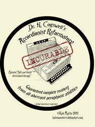 Accordionist Reformatory Sticker