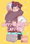 Happy Birthday Captain!!