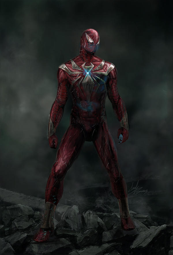 Iron Spider by ChampionPuppet
