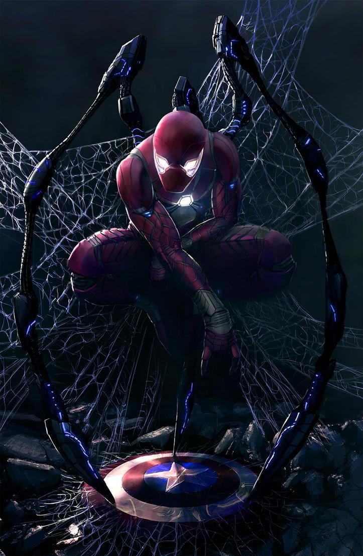 Iron Spider by ChampionPuppet