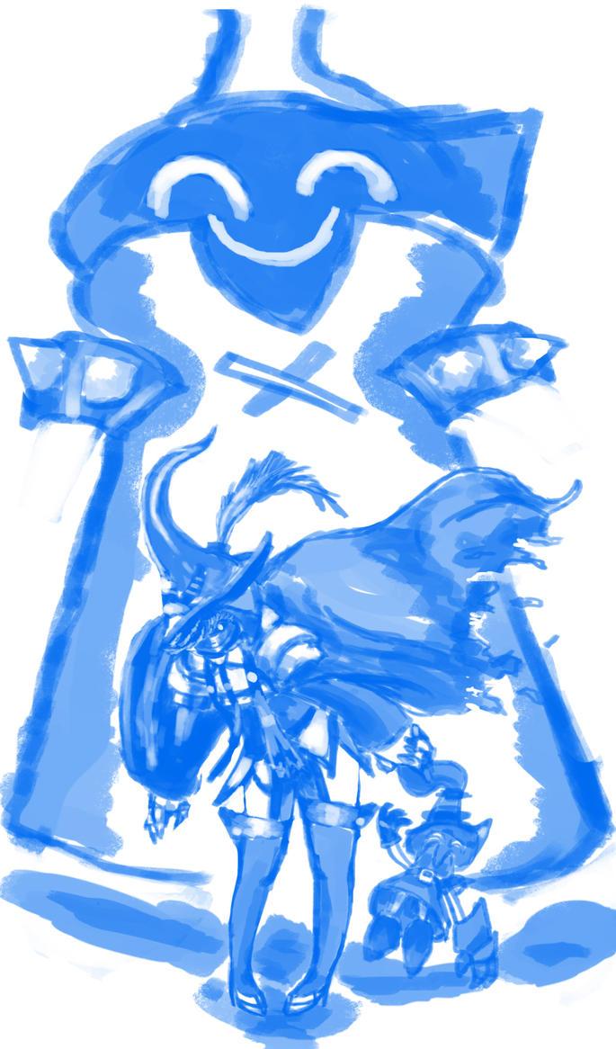 Annie Veigar Apprentice Sketch by loneKoi