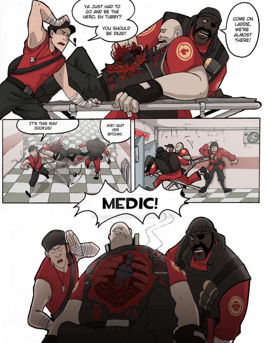 TF2: Be efficient be polite 6 by spacerocketbunny
