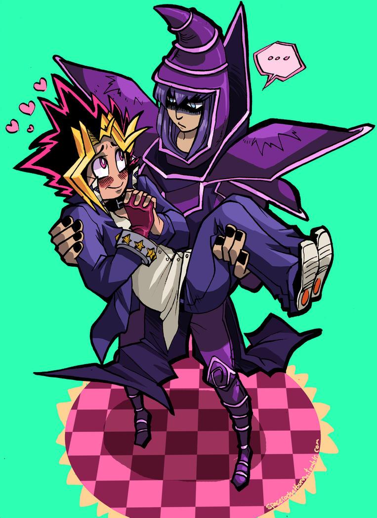 Dark Magician I choose YOU by spacerocketbunny
