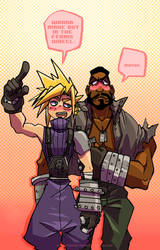 I'm gonna date the shit outta you Barret by spacerocketbunny