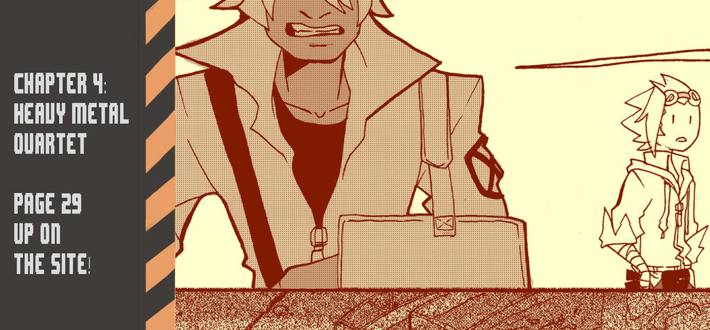 Ghost Junk Sickness: CH4--page 29 update! by spacerocketbunny