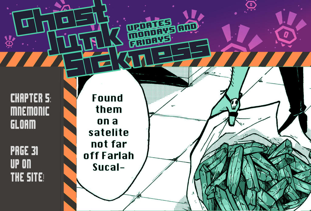 Ghost Junk Sickness: CH5--page 31 update! by spacerocketbunny