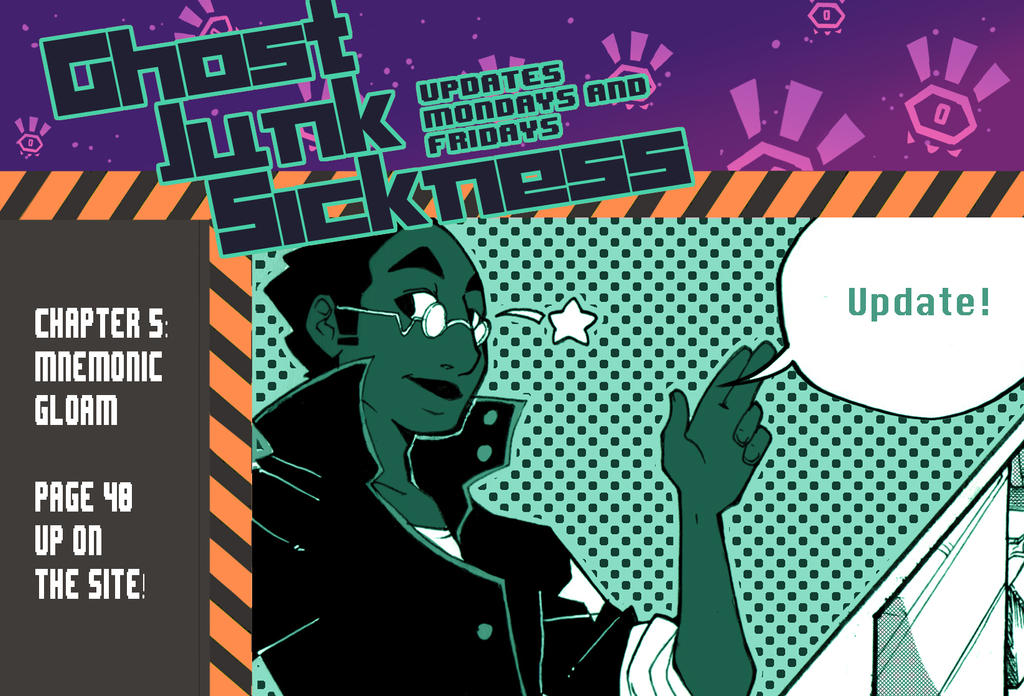 Ghost Junk Sickness: CH5--page 40 update! by spacerocketbunny