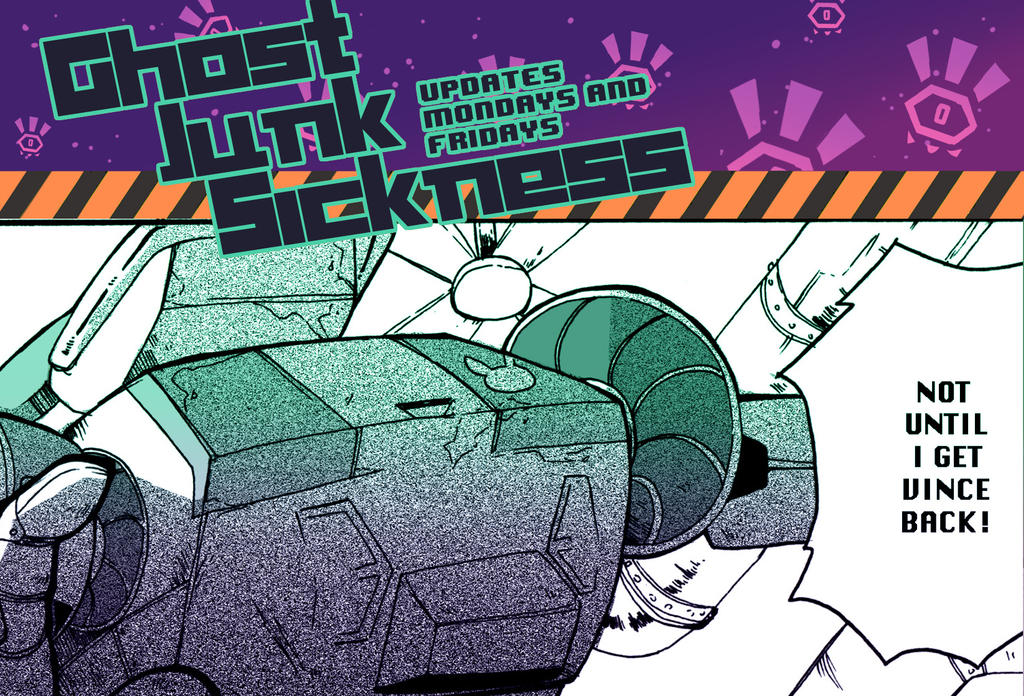 Ghost Junk Sickness: CH6--page 14 update! by spacerocketbunny