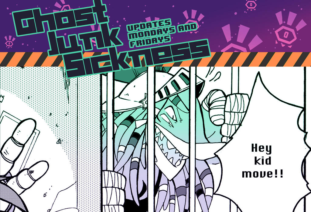 Ghost Junk Sickness: CH6--page 15 update! by spacerocketbunny