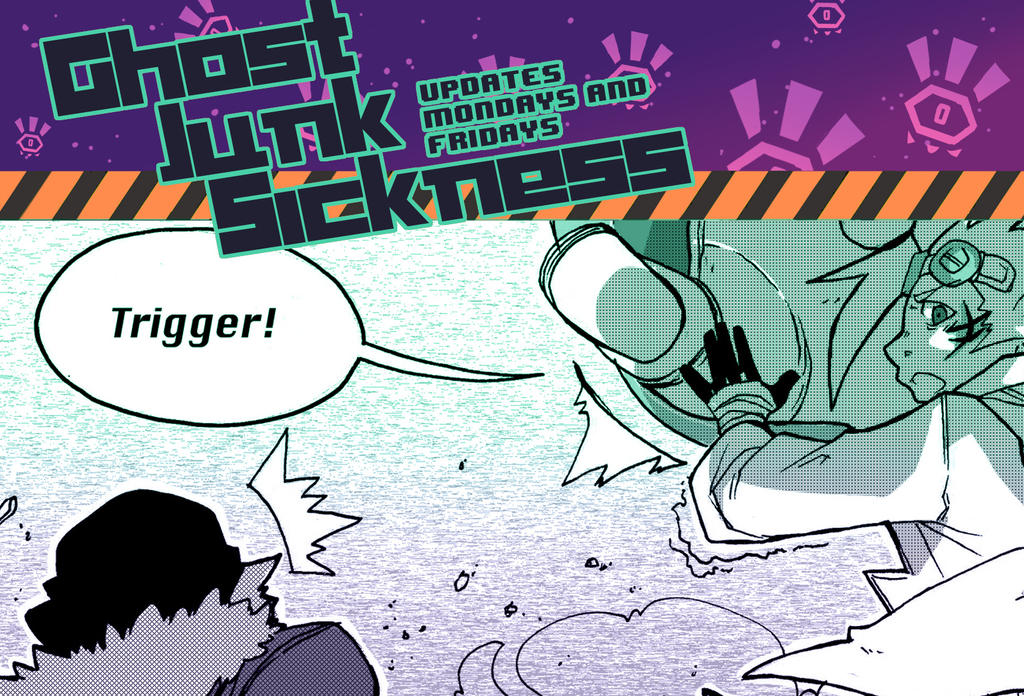 Ghost Junk Sickness CH6-- Page 16 update! by spacerocketbunny