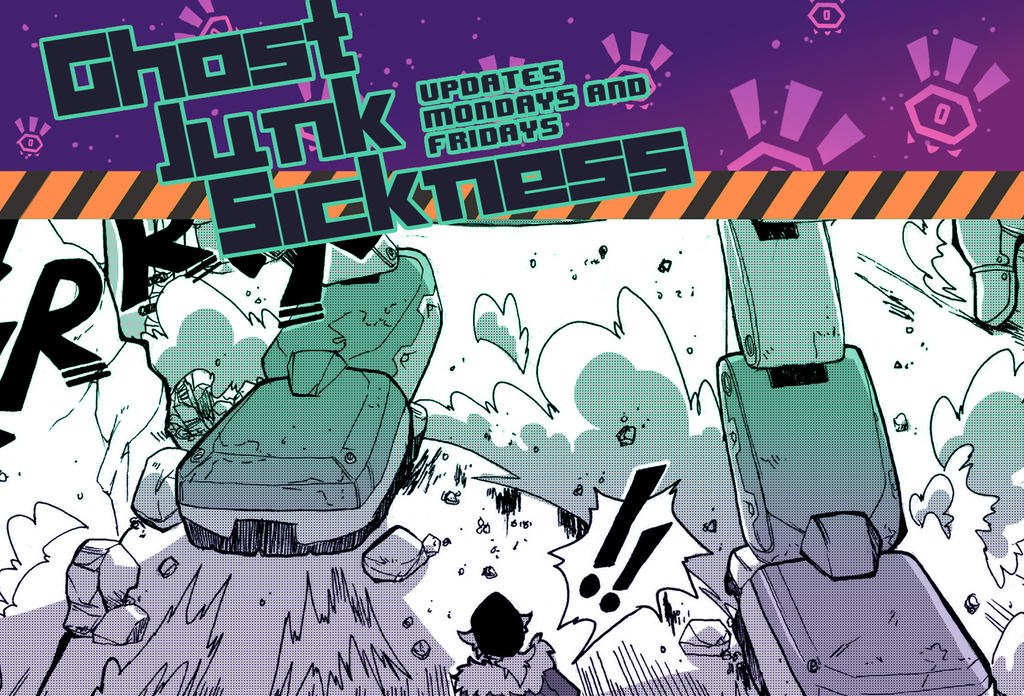 Ghost Junk Sickness CH6-- Page 18 update by spacerocketbunny