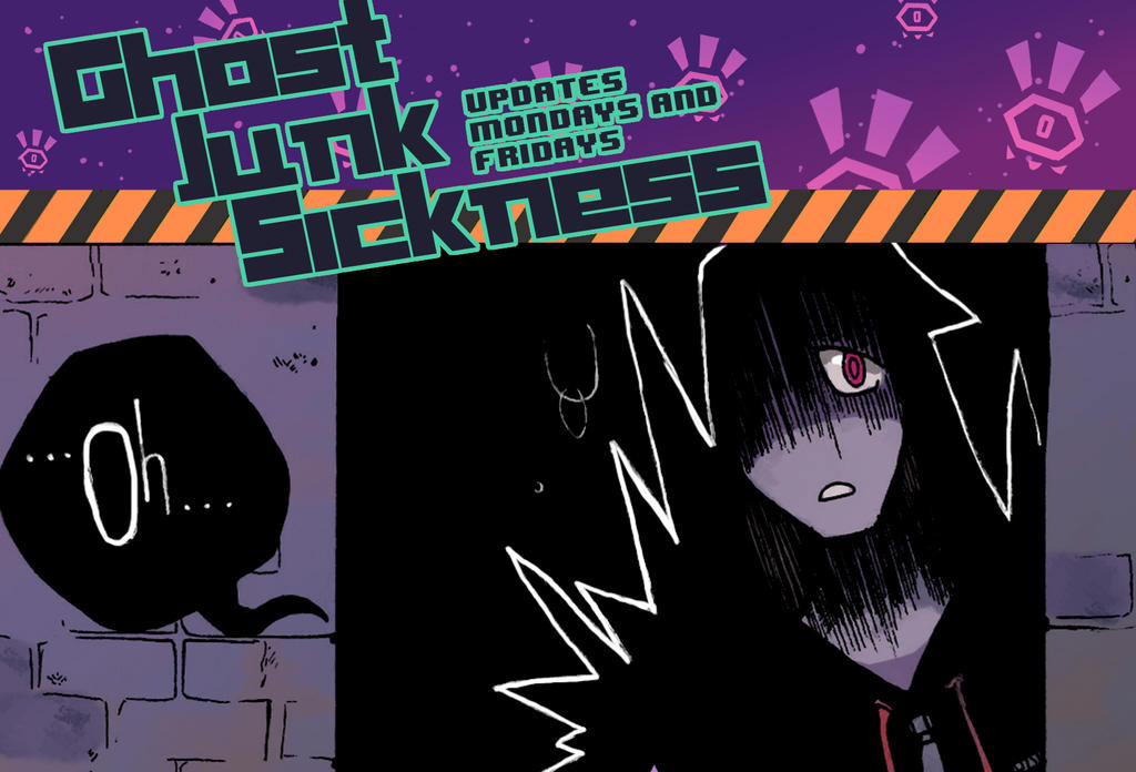 Ghost Junk Sickness CH7-- Page 2 update! by spacerocketbunny