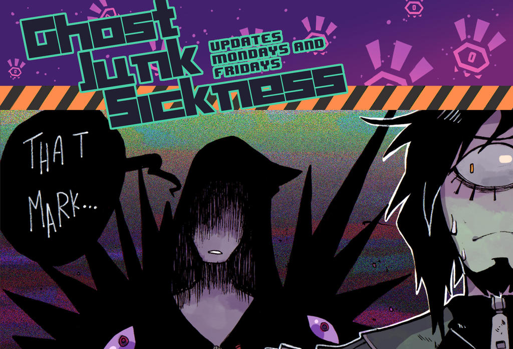 Ghost Junk Sickness CH7-- Page 3 update! by spacerocketbunny