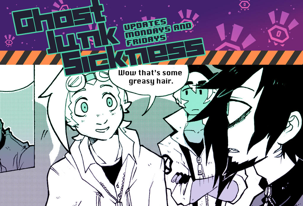 Ghost Junk Sickness CH7-- Page 36 update! by spacerocketbunny