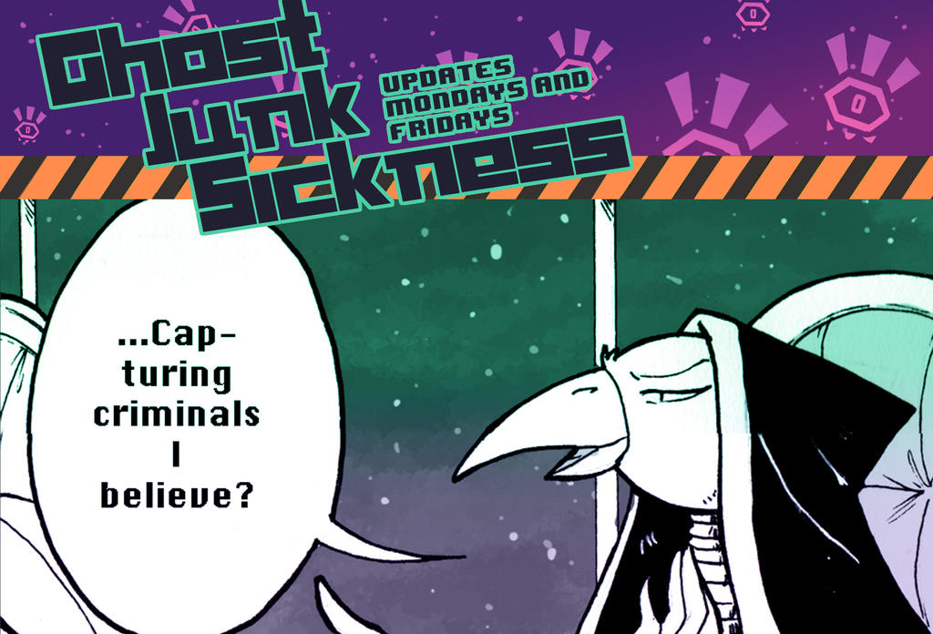 Ghost Junk Sickness CH8-- Page 7 update! by spacerocketbunny