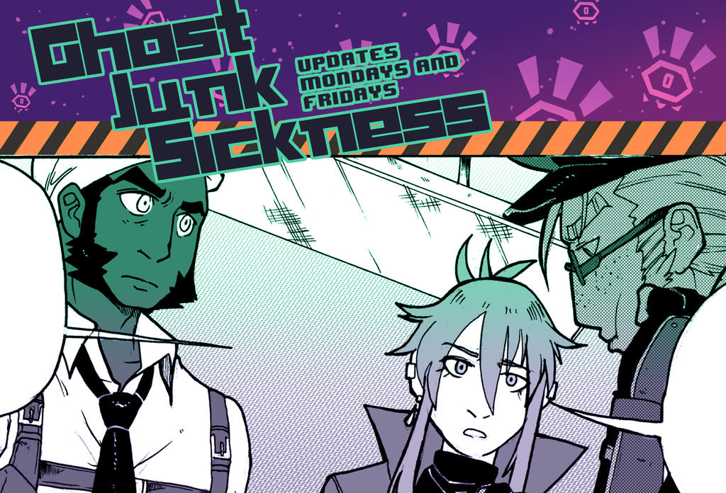 Ghost Junk Sickness CH8-- Page 15 update! by spacerocketbunny