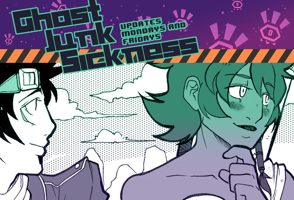 Ghost Junk Sickness CH8-- Page 22 update! by spacerocketbunny