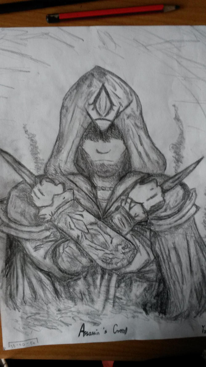 Ezio Auditore by Shadow-Girl-x