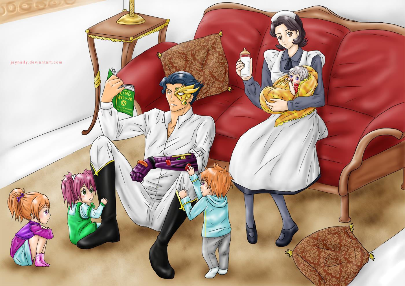 Comm2: Tribulations of Babysitting by JeyHaily
