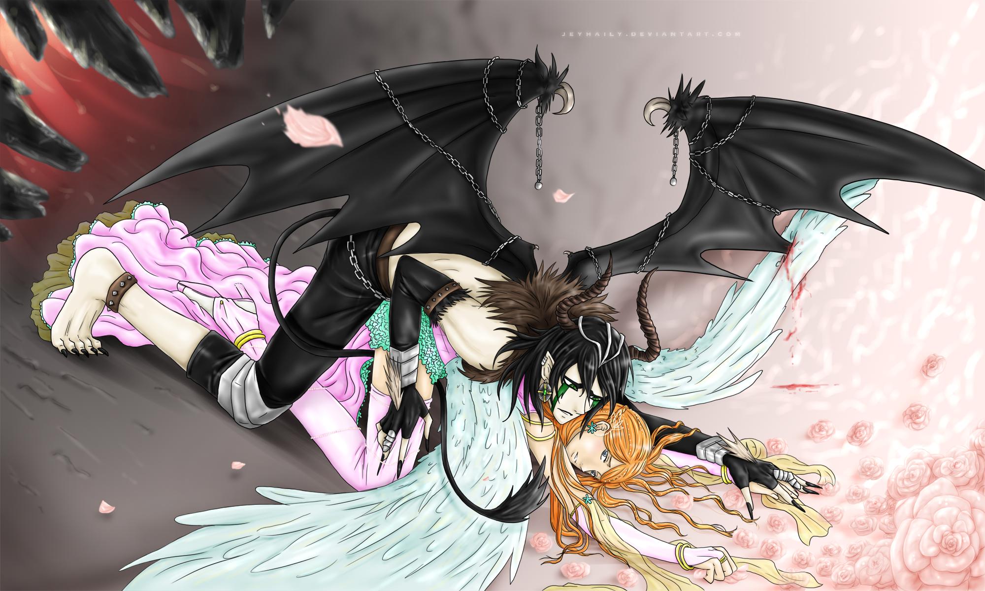 картинки аниме девушек демонов красивых