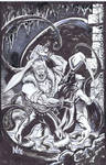 Fafhrd and the Gray Mouser marker Sketch