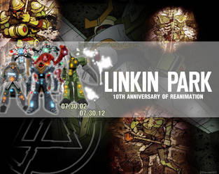 LP Reanimation anniversary Wallpaper by BeCrew