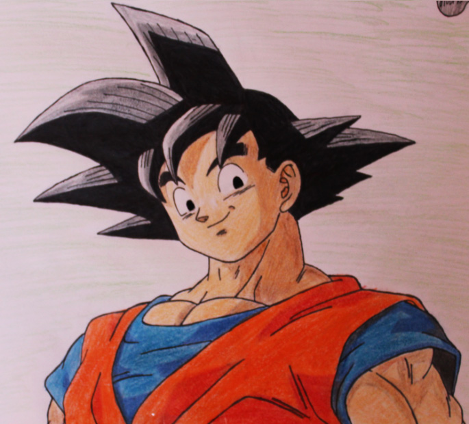 Goku smiling by pademo