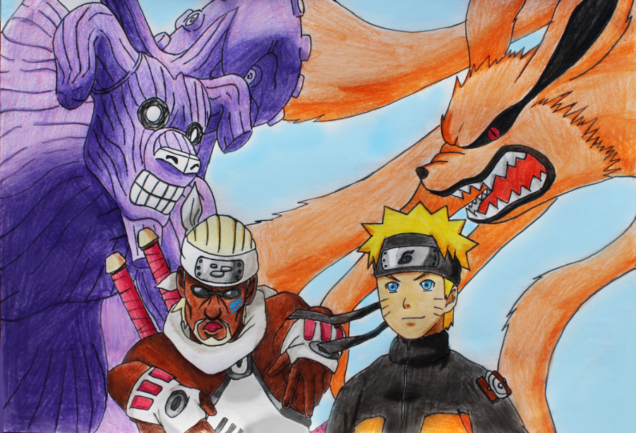 Killer bee vs naruto - photo#5