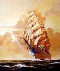 Sailing Ship 2 by temma22