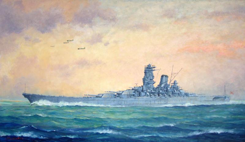 -Battleship 'YAMATO'- by temma22