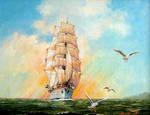 Sailing Ship -Gorch Fock-