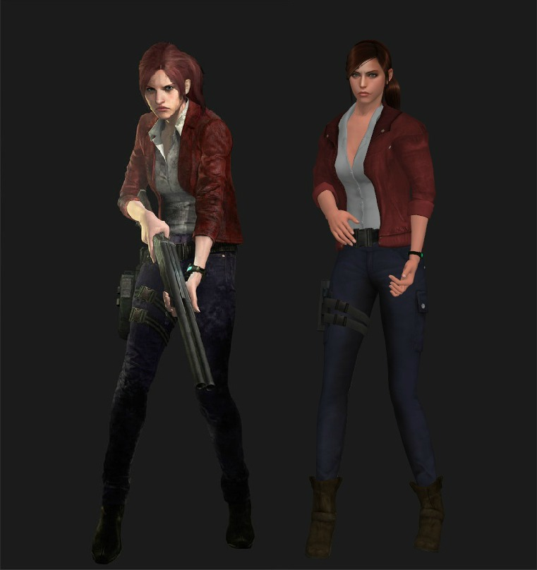 Claire Redfield Revelations 2 Mod