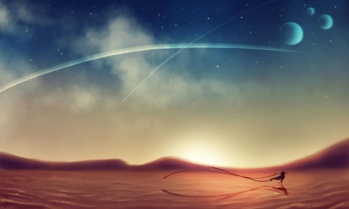 Dance of the Desert by Romantiquated