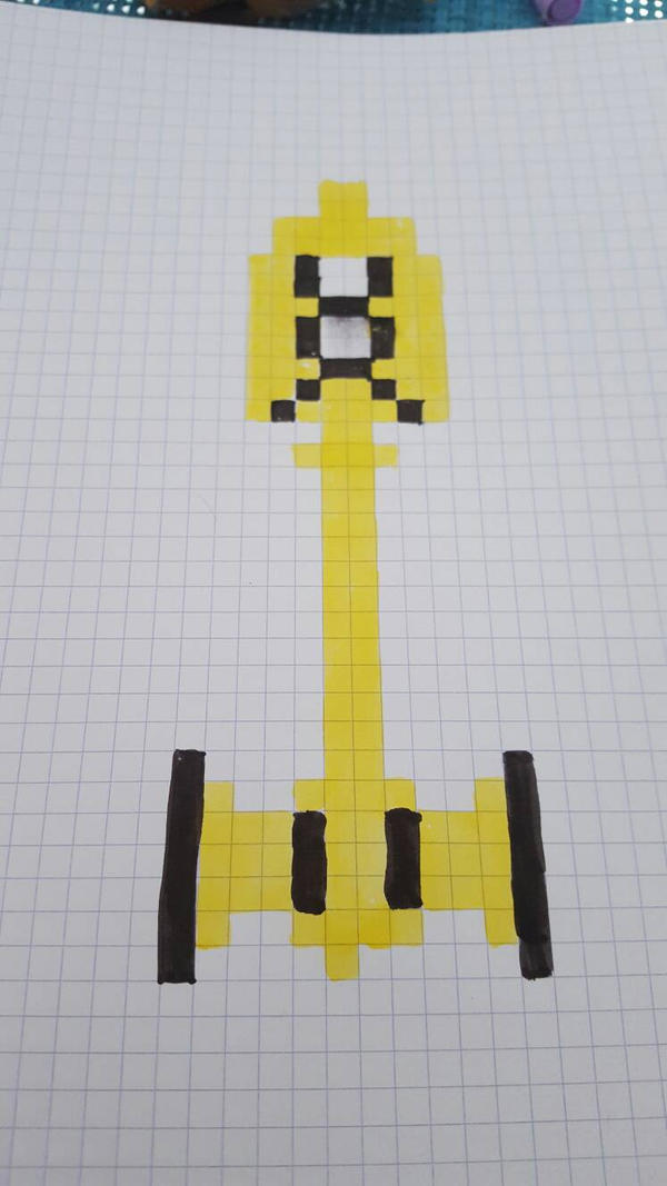 Lucys Taurus Key In Fairy Tail Pixel Art By Pandatheiop On