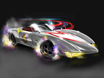 Speed racer the mark five by nabuc2017